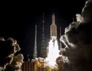 Décollage d'Ariane vol VA 245 embarquant Bepi-Colombo