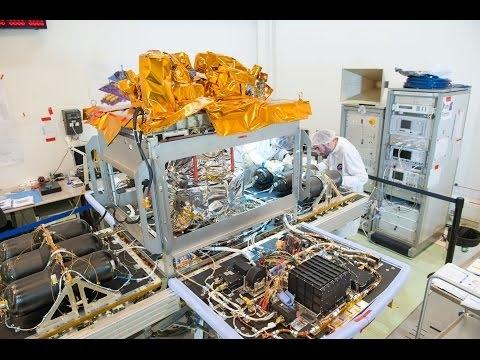 Satellite Microscope - intégration (timelapse)